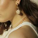 fashion simple irregular freshwater pearl earrings   NHJIE359222