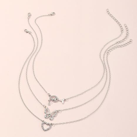 Collar de corazón lindo creativo amor de copa de mariposa para niños NHNU359345's discount tags