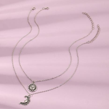 Conjunto de collar de luna de sol colgante de aleación de collar para niños NHNU359349's discount tags