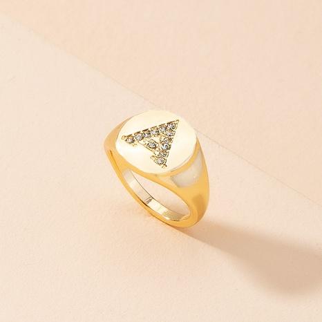 Anillo de letras de diamantes de moda anillos de letras hip-hop NHAI359357's discount tags