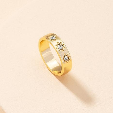 Anillo de diamantes retro anillo de estrella de hip-hop NHAI359358's discount tags