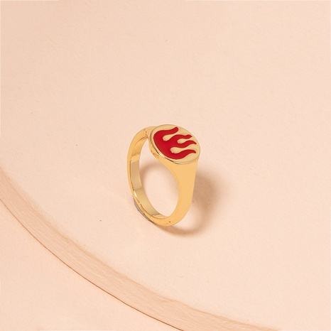 Fashion flame ring women wholesale women's alloy rings NHAI359359's discount tags