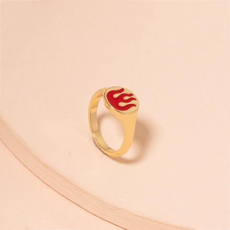 Las mujeres del anillo de la llama de la moda venden al por mayor los anillos de la aleación de las mujeres NHAI359359's discount tags