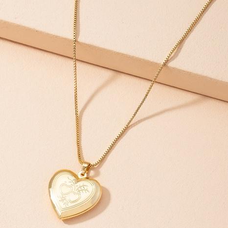 Moda amor colgante collar corazón cadena de clavícula NHAI359366's discount tags