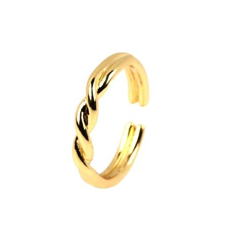 Al por mayor anillo ajustable de apertura en forma de giro de moda NHPY344868's discount tags