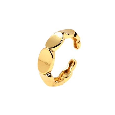 anillo abierto de costura dorada de moda al por mayor NHPY344876's discount tags