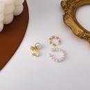 fashion alloy pearl threepiece ear bone clip set NHMS344908
