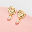 fashion specialshaped natural freshwater pearl earrings NHAN345244