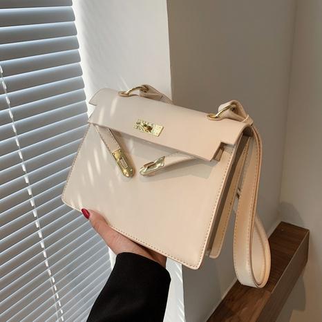 Vente en gros sac à bandoulière en métal de couleur unie NHLH345389's discount tags
