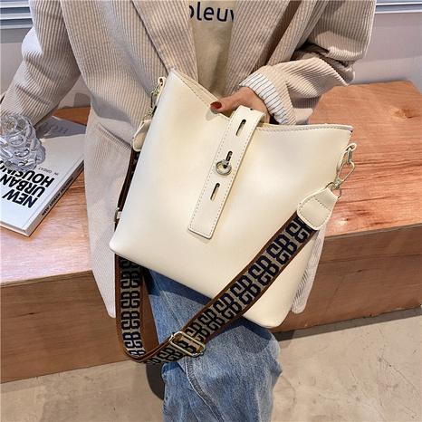 sac seau en toile de couleur contrastante NHLH345391's discount tags