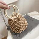 wholesale simple hollow woven handbag NHLH345440