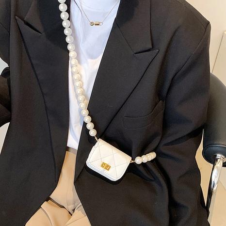 Sac à bandoulière mini chaîne de mode d'été petit sac carré NHLH345452's discount tags