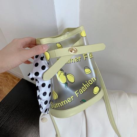 sac à bandoulière d'impression de fruits transparent de mode NHJZ345463's discount tags