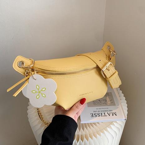 petit sac messager nuage plié chaîne en métal de mode NHJZ345466's discount tags