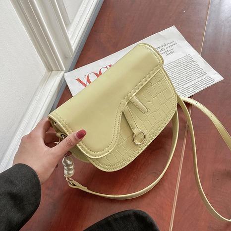 sac messange à chaîne d'épissage de perles de couleur unie simple NHJZ345481's discount tags