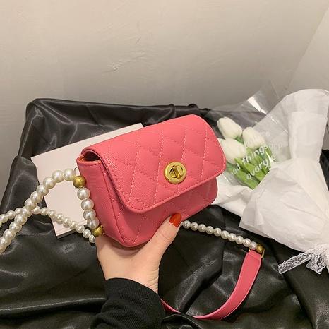 sac à bandoulière à une épaule en fil brodé de couleur unie à la mode NHJZ345486's discount tags