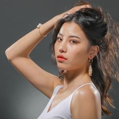 Mode einfache Stil C-förmigen Conch Ohrringe NHAN345668