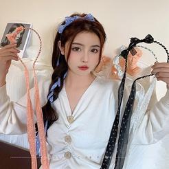 Mode Bogen Quaste Stoff Stirnband Großhandel NHCQ345675