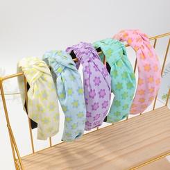 Koreanischer Stoff Chiffon Tie-Dye breitkrempigen Stirnband Großhandel NHAU345681