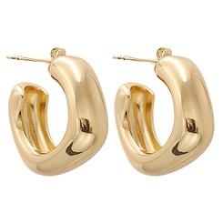 Mode Metall kreative geometrische quadratische Ohrringe Großhandel NHJJ345734