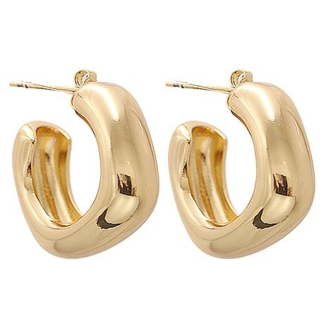 Mode Metall kreative geometrische quadratische Ohrringe Großhandel NHJJ345734's discount tags