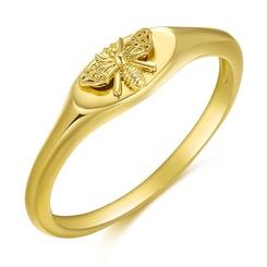 Mode goldene Biene Siegelring Großhandel NHDP345760