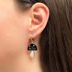 koreanische Mode neuen Stil Tropfpilz Ohrringe NHLU345851
