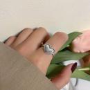 fashion heartshape alloy ring wholesale NHBY345894
