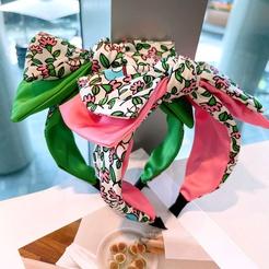 Koreanische florale doppelschichtige dreidimensionale Schleifenheftung Stirnband Großhandel NHHD345931