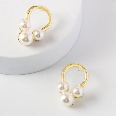 Pendientes De Perlas De Moda al por mayor NHOT346095's discount tags