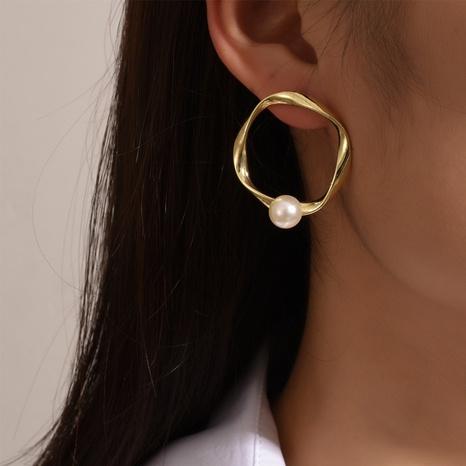Al por mayor pendientes de perlas de imitación cuadrados de moda NHOT346089's discount tags