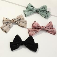 koreanische Mode einfachen Stil Bowknot Haarspange Set NHAU345637