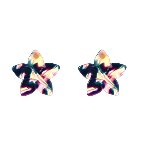 Fashion star acrylic earrings wholesale NHYAO346148's discount tags