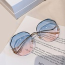 Korean bentleg frameless cutedge gradient sunglasses  NHKD346380