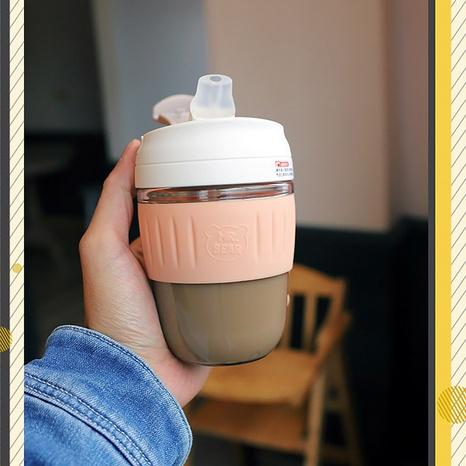 Venta al por mayor portátil linda simple de la taza de agua de la paja plástica NHtn346456's discount tags