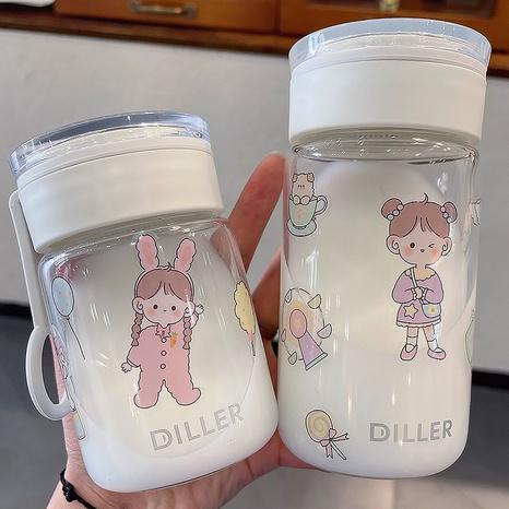 Mini taza de agua de cristal portátil de impresión de moda al por mayor NHtn346459's discount tags