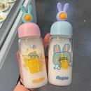 Mode lapin canard mignon tasse d39eau en verre portable en gros NHtn346469