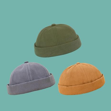 Chapeau de dôme en coton de couleur unie pour enfants en gros NHAMD346506's discount tags