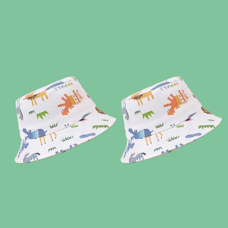 Mode mignon animal crème solaire parasol enfants chapeau en gros NHAMD346524's discount tags