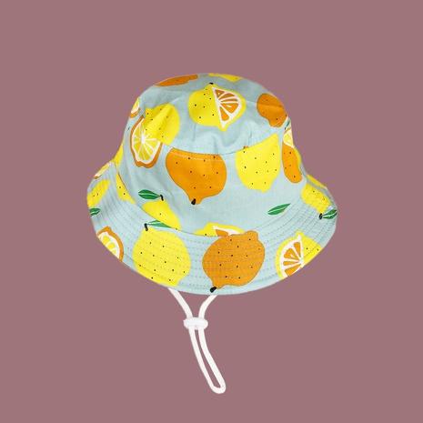 Chapeau de protection solaire coupe-vent au citron pour enfants en gros NHAMD346526's discount tags