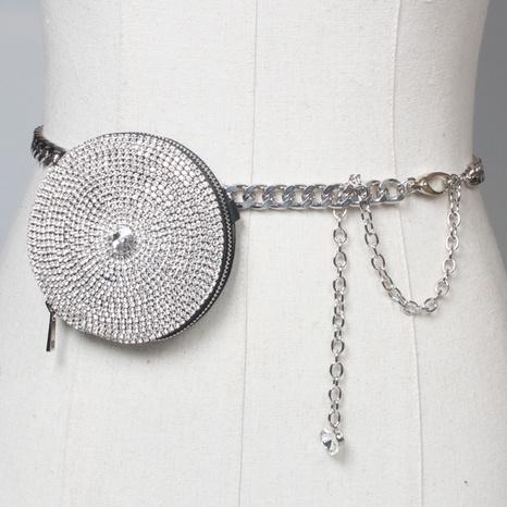 Mini bolso de cintura en forma de corazón de diamantes de imitación de moda al por mayor NHJSR346540's discount tags