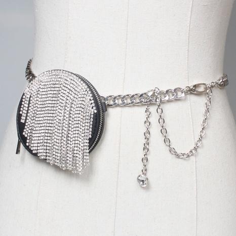 wholesale mini bolso de la cintura de la borla del corazón del diamante de imitación de la moda NHJSR346541's discount tags