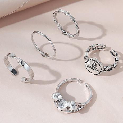 moda nuevo estilo simple salvaje creativo popular conjunto de anillos de rana salvaje NHPS346584's discount tags