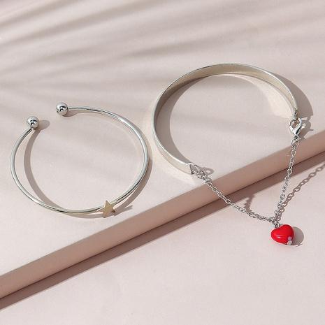 Conjunto de pulsera de resina de estrella de estilo de moda creativa coreana NHPS346601's discount tags