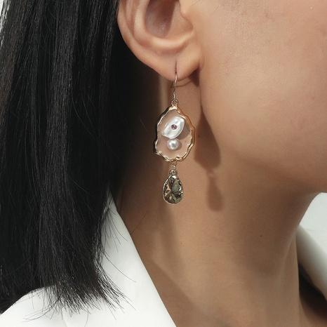 Pendientes gota de agua perla barroca irregular NHQC349191's discount tags