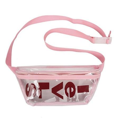 wholesale bolso de cintura de jalea transparente de plástico de letra de moda NHTG346961's discount tags