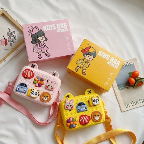 Fashion geometric shoulder messenger bag wholesale NHAV346981
