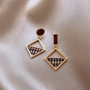 Fashion geometric alloy earrings wholesale NHWB346991