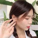 Fashion pearl bear alloy earrings wholesale NHWB346998