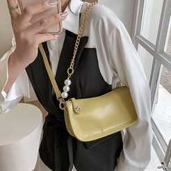 Fashion pearl shoulder messenger bag wholesale NHLH347174
